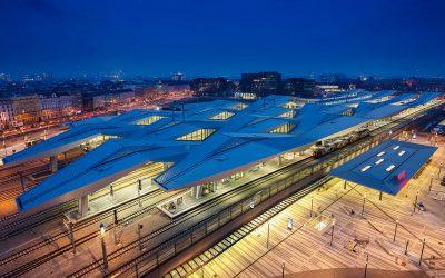 Ausztria – Bécs – Hauptbahnhof
