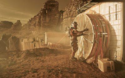 The Martian – filmdíszlet gyártás